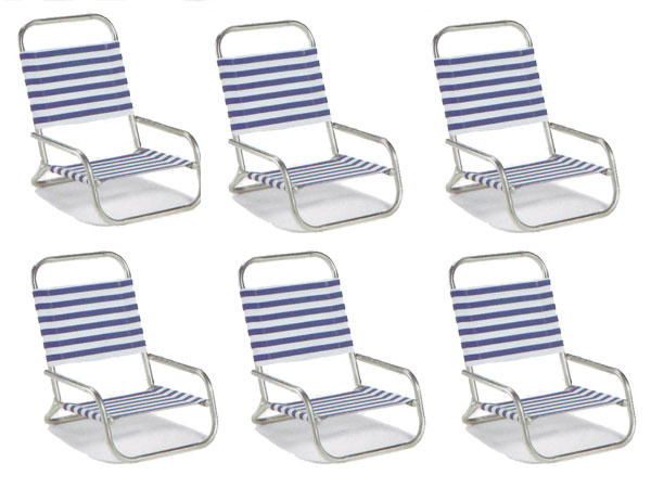 Sun & Sand Beach Chair by Telescope - Set of 6