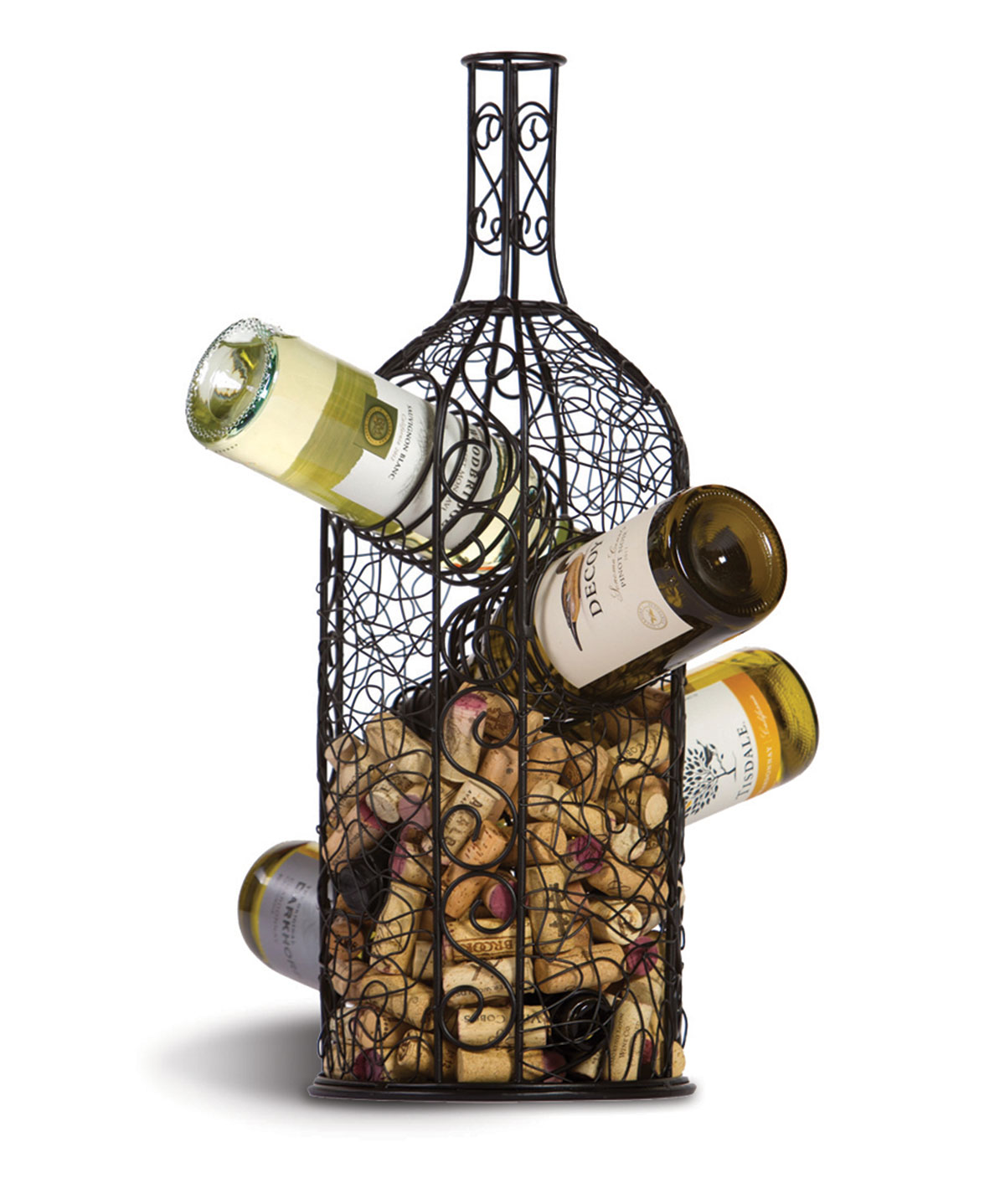 Bouchon Wine Rack & Cork Caddy