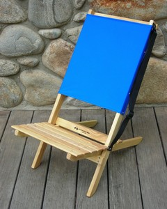 Two Piece Portable Chair by  Blue Ridge Chair
