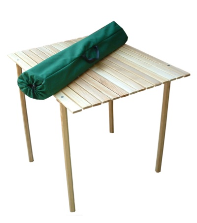 The Portable Roll Top Table by Blue Ridge Chair