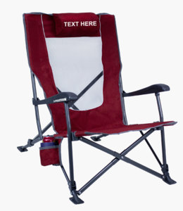 IMPRINTED Low-Ride Recline by GCI Outdoor