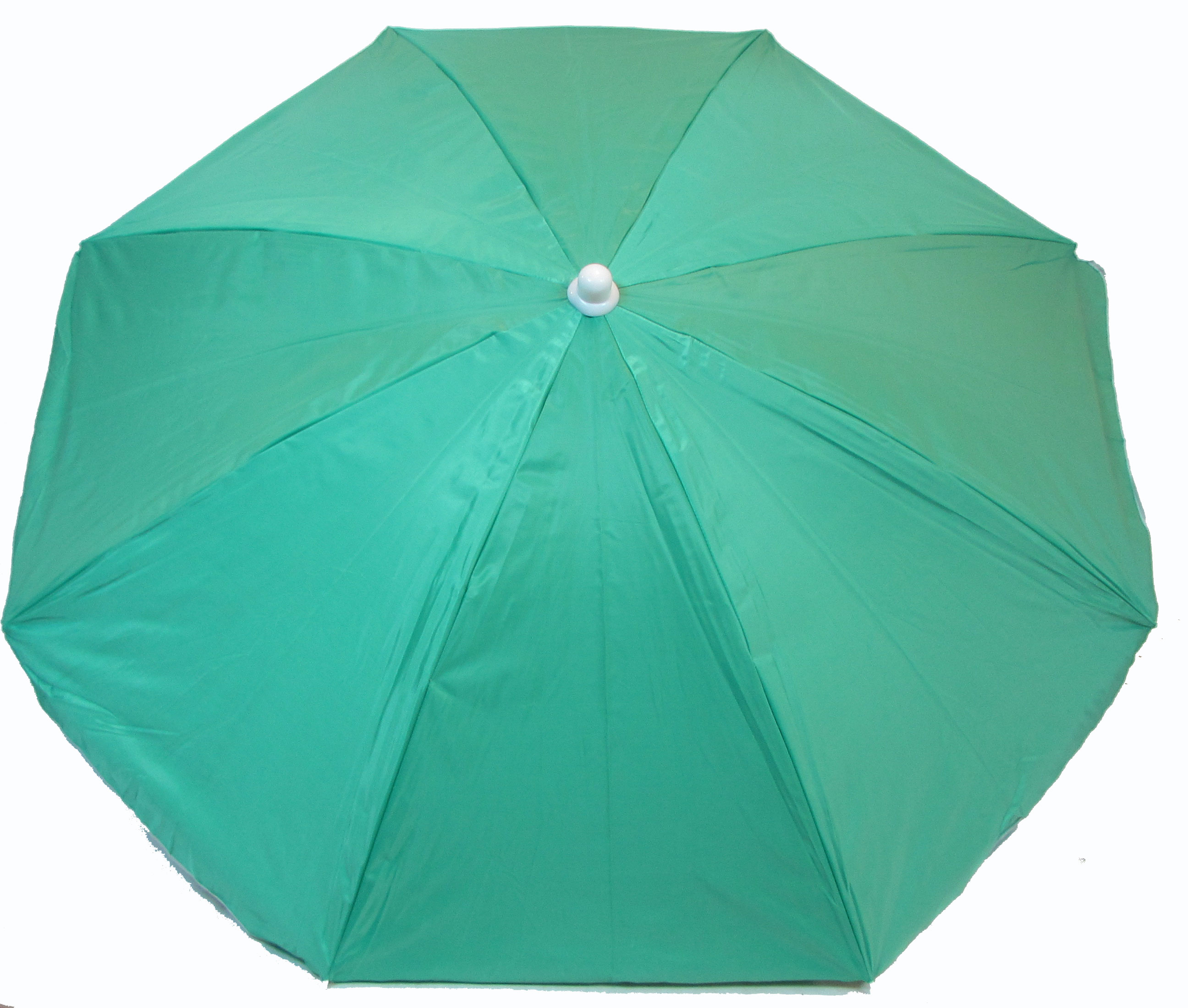 6 Foot Classic Oxford Beach Umbrella with Anchor by JGR COPA