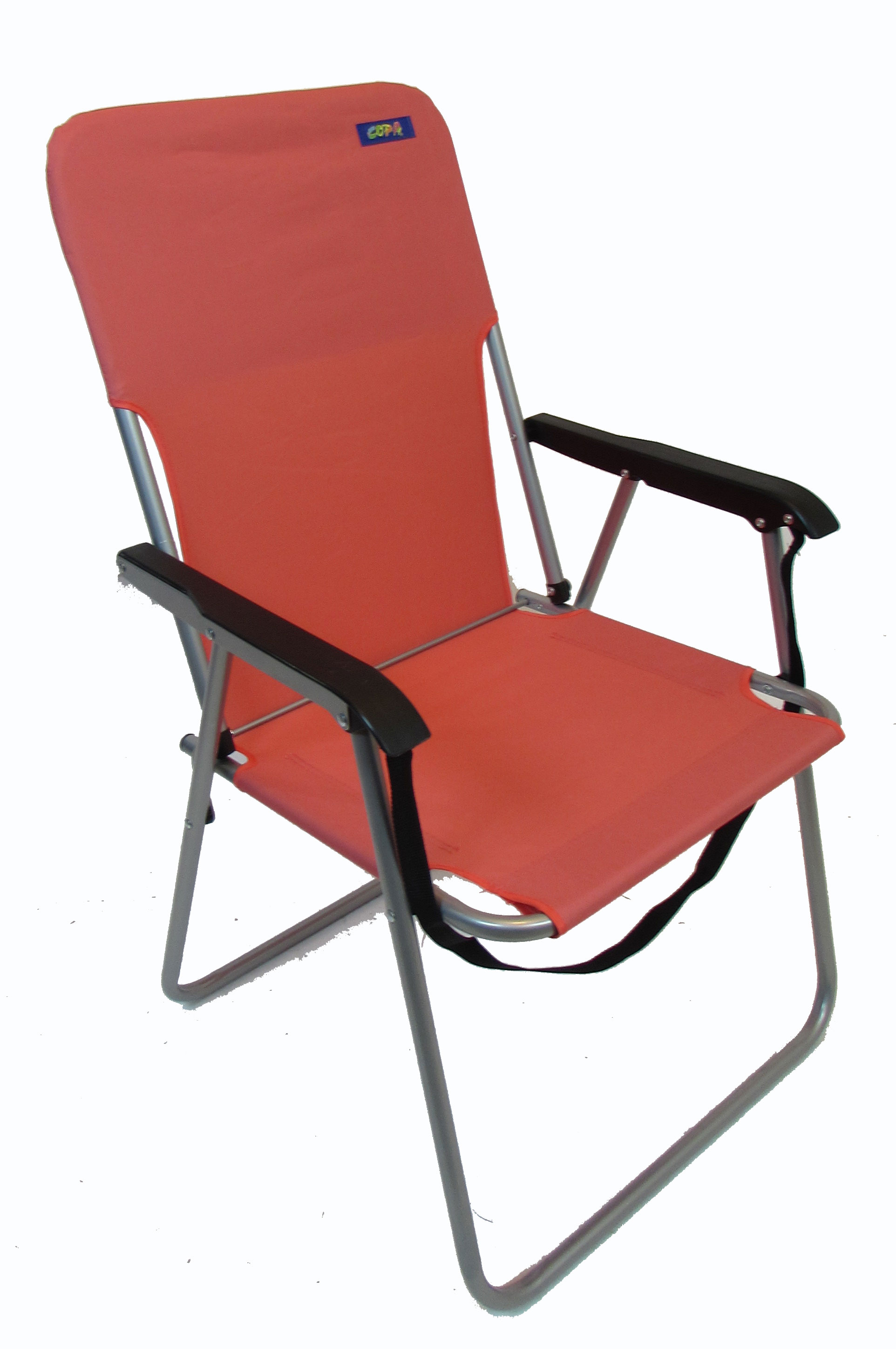 High Boy One Position Strap Chair by JGR Copa