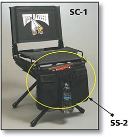 Stadium Stow Chair Storage Organizer by Stadium Chair