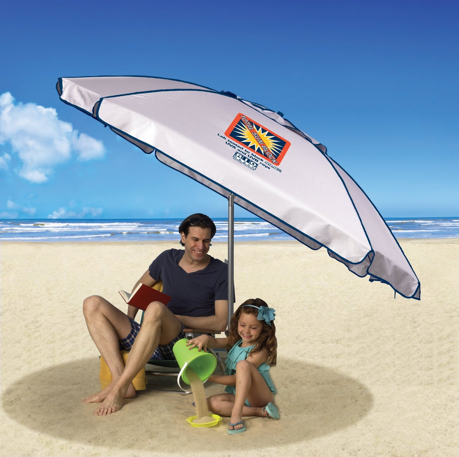 ExtremeShade Total Sun Block 8' Umbrella Shelter
