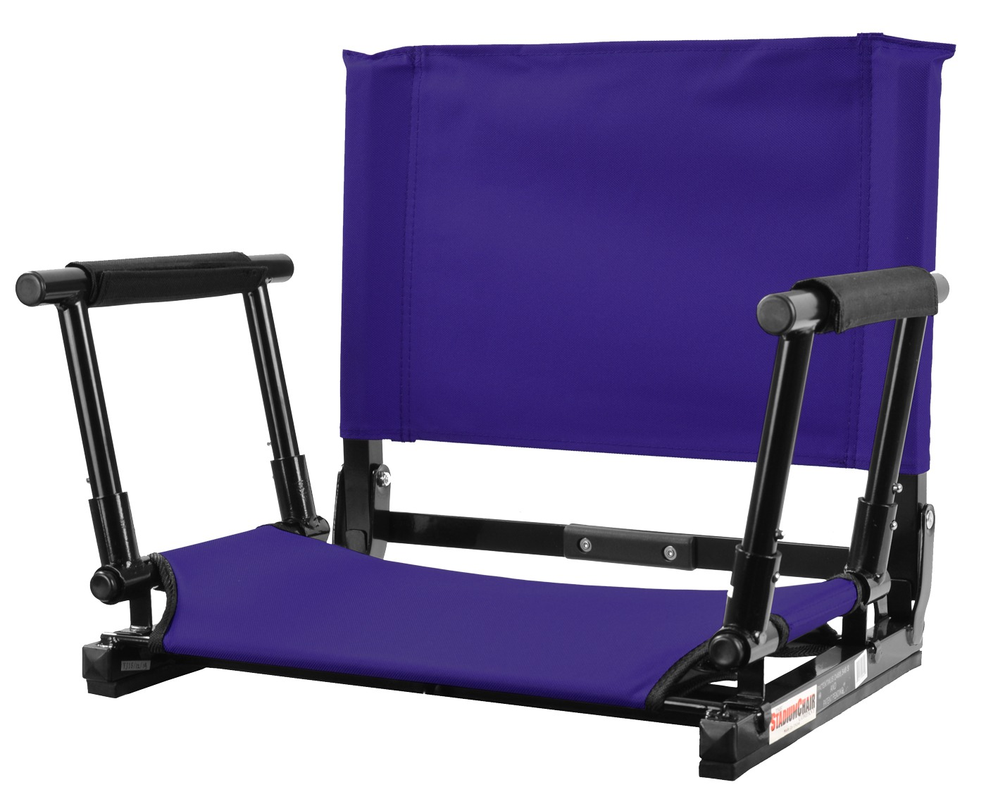 sc 1 st  Everywhere Chair & The NEW Stadium Chair Gamechanger Bleacher Seat with Optional Arms