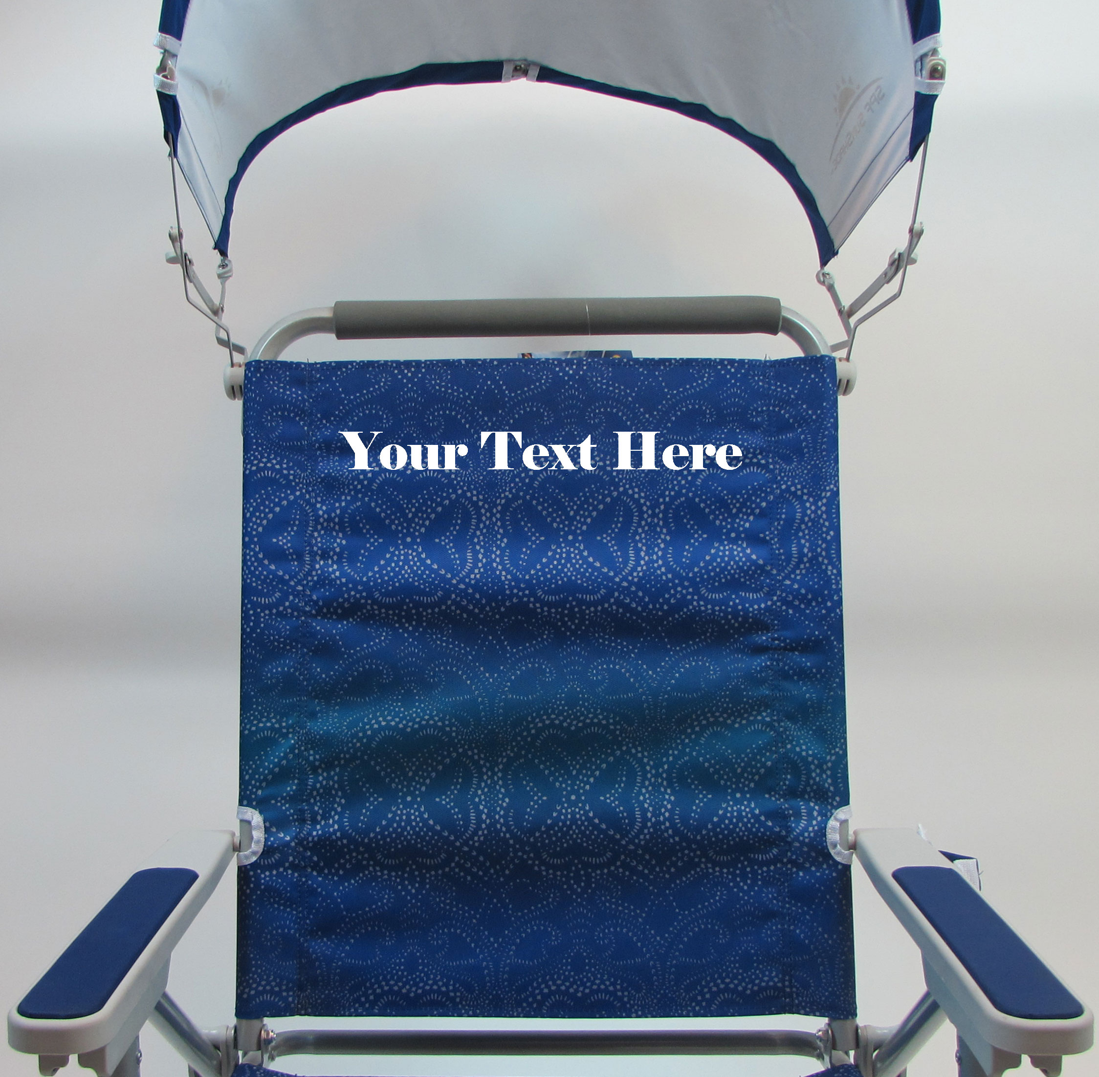 IMPRINTED Personalized Big Surf with Slide Table & SunShade by GCI Waterside