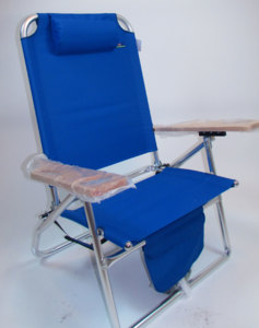 3 Position Big Fish Hi-Seat Aluminum Chair by JGR Copa