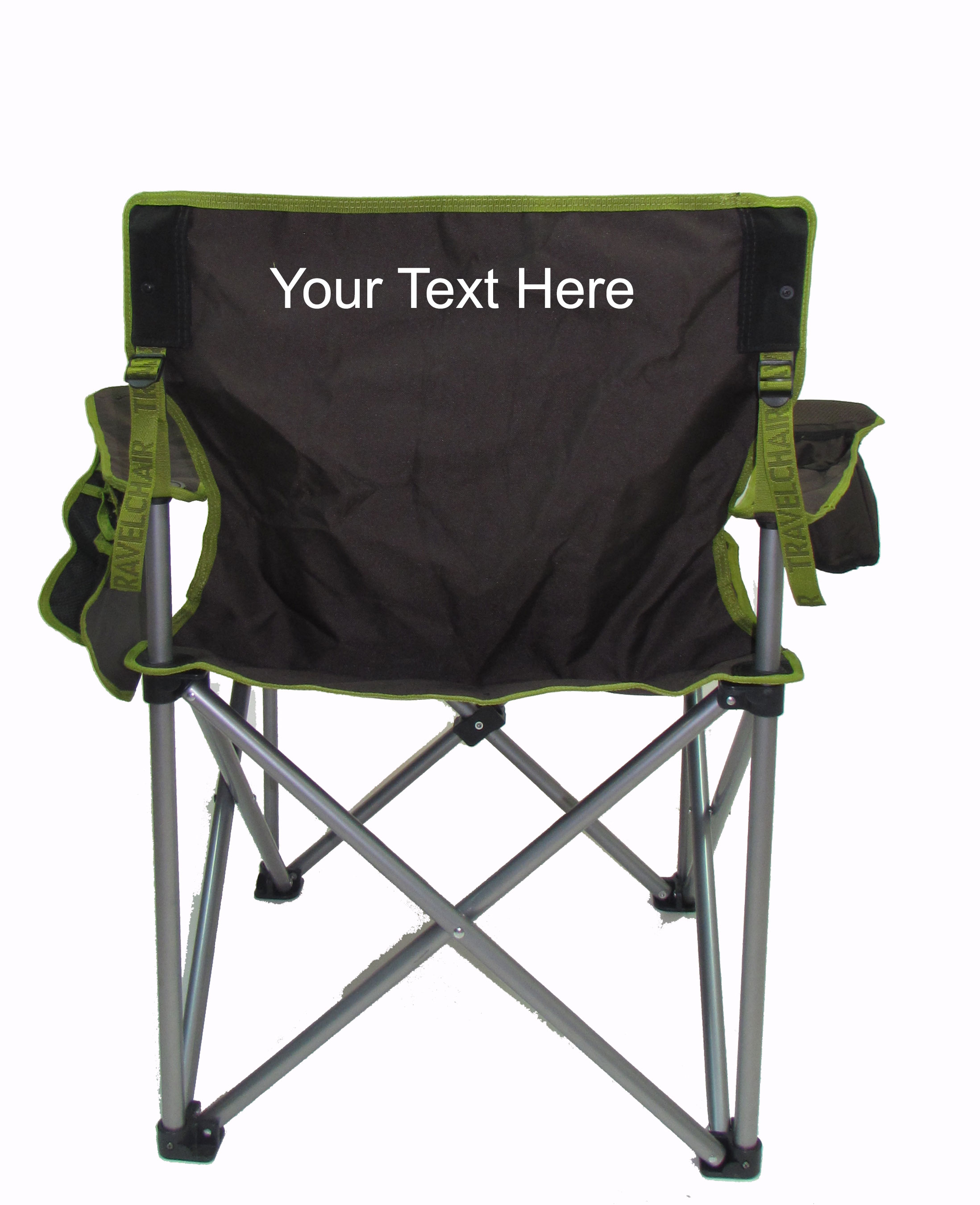 IMPRINTED Personalized The Big Kahuna Heavy Duty Oversized Quad Chair by Travel Chair