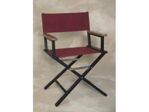IMPRINTED Personalized Monterey Aluminum Table Height Directors Chair