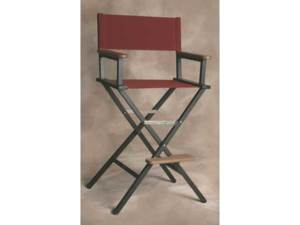 IMPRINTED Personalized Monterey Aluminum Bar Height Directors Chair