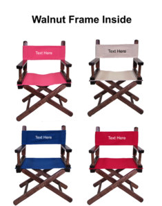 IMPRINTED Personalized Toddler's Director Chair by Gold Medal