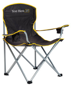 Personalized Imprinted Heavy Duty Quad Chair by Quik Shade