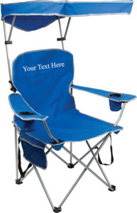 Personalized Imprinted Full Size Quad Shade Chair by Quik Shade