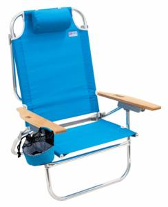 High Boy Lay Flat Beach Chair by RIO Beach