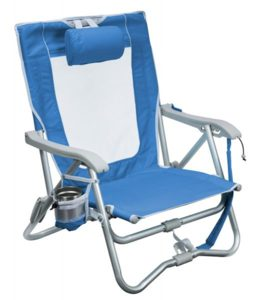 Bi-Fold Slim Beach Chair by GCI Waterside
