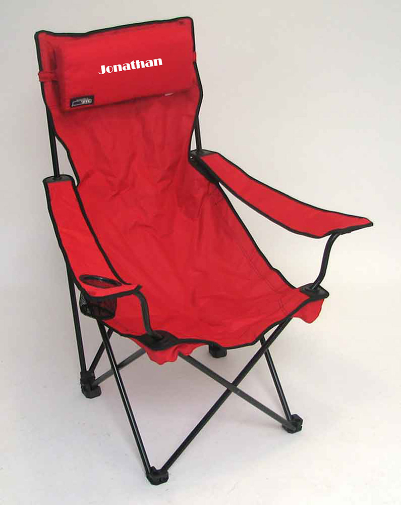IMPRINTED Personalized Classic Bubba Hi-Back Quad Chair