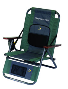 IMPRINTED Personalized Wilderness Recliner by GCI Outdoor