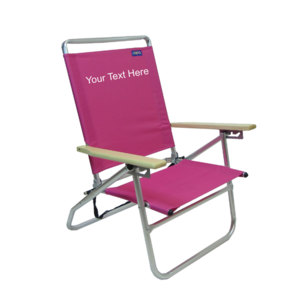 IMPRINTED Mid Height 3 Position Beach Chair by Copa
