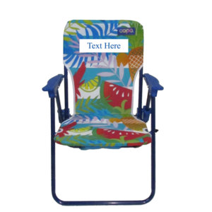 IMPRINTED Personalized Kids Folding Backpack Beach Chair