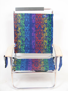 IMPRINTED Personalized Lazy Beach 3 Position Beach Chair by JGR Copa