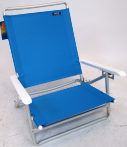 JGR Value Aluminum Beach Chair