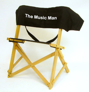 IMPRINTED Personalized Gold Medal Sportsman Musicians Portable Folding Chair