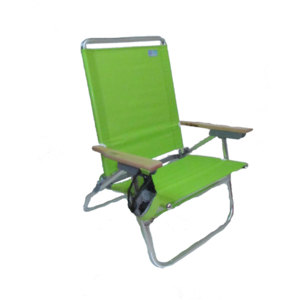 The Rio Beach 4 Position Easy In-Easy Out Beach Chair