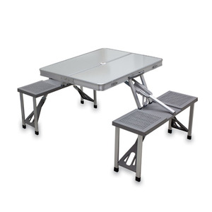 Aluminum Portable Picnic Table by Picnic Time