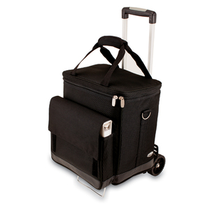 Cellar Insulated Tote with Trolley by Picnic Time