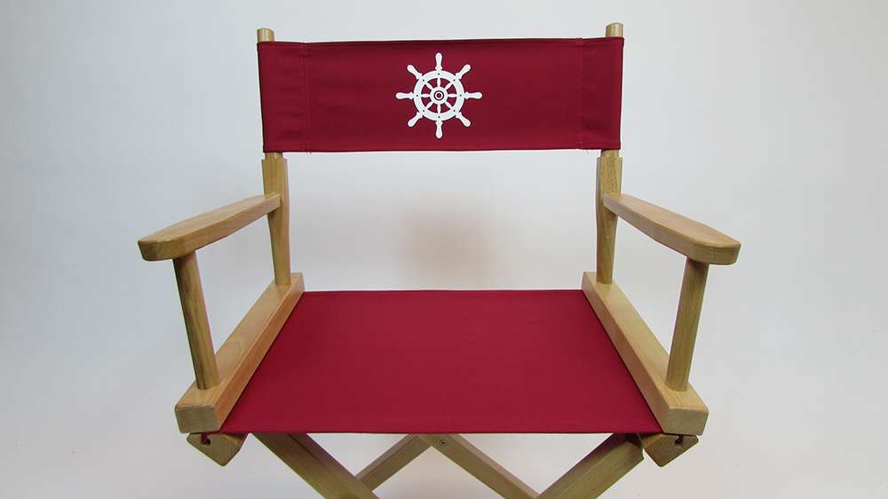 Charmant Marine Themed Replacement Directors Chair Cover (Stock Size)