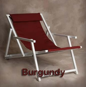 Aluminum Sling Chair by Sutton Bridge - Personalization Available