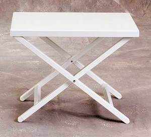 Aluminum Side Table by Sutton Bridge