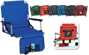 Stadium Seat with Arms and Storage Pockets by Picnic Plus