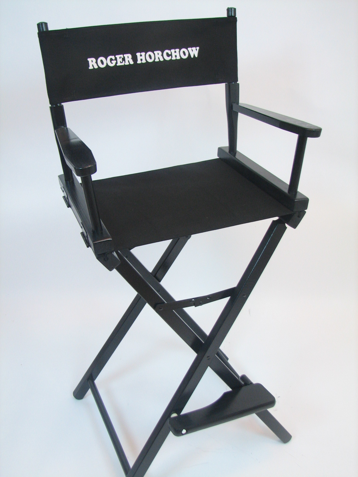 Custom Embroidered Directors Chair